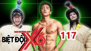 BIỆT ĐỘI X6 | BDX6 #117 | Hữu Vi khoe body 'đấu vật' SUMO cùng Quang Bảo - Sĩ Thanh | 130418