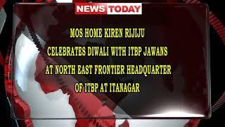 Diwali celebration at ITBP Itanagar with Sh Kiren Rijiju MoS Home Govt of India