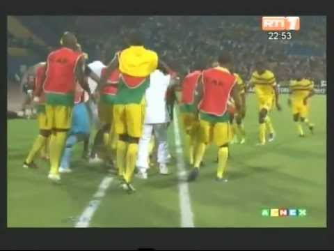 CAN 2012/ Groupe D. Temps fort du match Mali-Guinée (1-0)