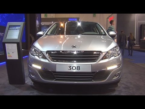 Peugeot 308 Active PureTech 110 Start&Stop 5-Doors (2016) Exterior and Interior in 3D