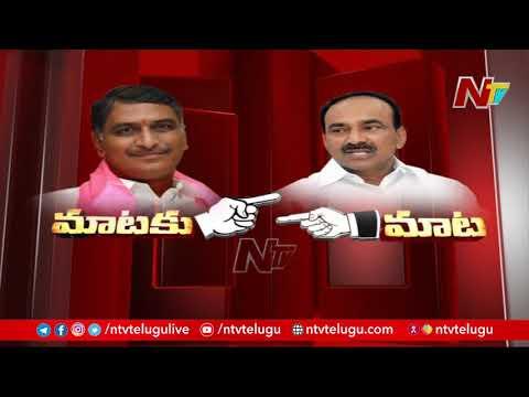 War of words between Harish Rao and Eatala Rajender over Huzurabad elections