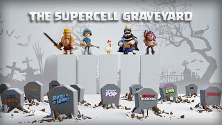 "A Look at Every Game Supercell Killed - ""The Supercell Graveyard"" (2010 - 2020)"