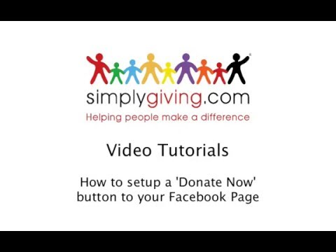 VideoTutorial_How to embed 'Donate Now' button