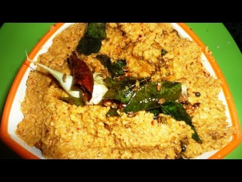 How To Cook Tasty & Delicious Toor Dal Chutney .:: By Attamma TV ::. - Smashpipe Food
