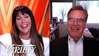 Patty Jenkins & Aaron Sorkin Talk 'Wonder Woman,' Streaming Wars And Their Old Day Jobs