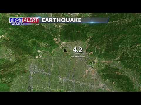 Earthquake shakes Southern California's San Fernando Valley