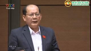 Đại biểu Danh Út Tỉnh Kiên Giang phát biểu
