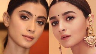 Alia Bhatt Kalank Promotion Look | Summer Soft Glowy Dewy | Sush Dazzles