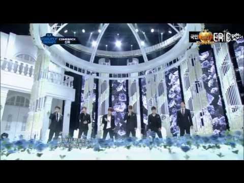120329  Shinhwa  Hurts +VENUS  (ComeBack Stage)