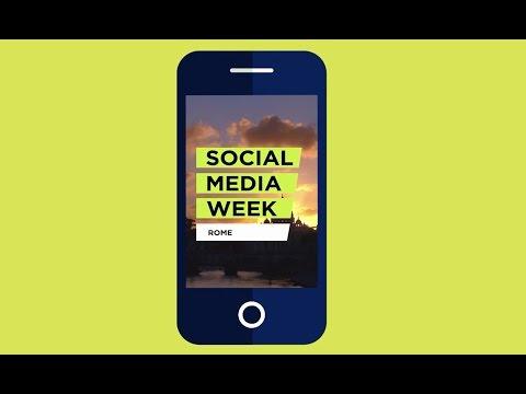 Social Media Week Rome: il 12-16 settembre a Roma l'edizione 2016