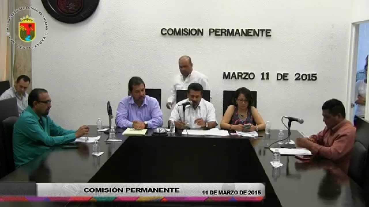 Comisión Permanente 11 de Marzo de 2015