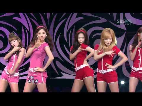 [소녀시대,훗] 101107,인기가요,소녀시대,Hoot