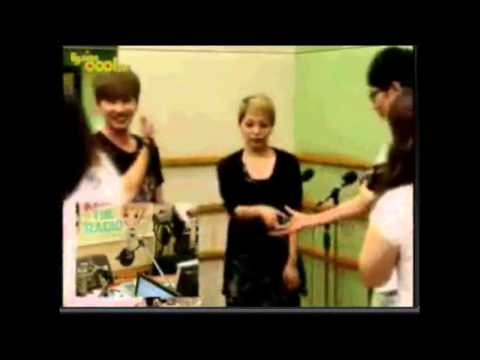 HyukBoA moment #7 Kiss The Radio Cute couple [EunHyuk & BoA]