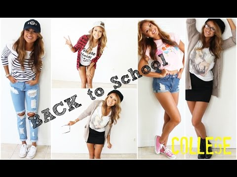 BACK TO SCHOOL LOOK BOOK:College Years! (7Looks)