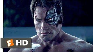 Terminator Genisys (2015) - Pops vs. the T-800 Scene (1/10) | Movieclips