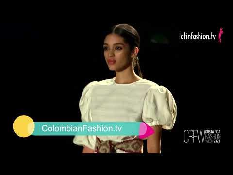 Del Manzano en Costa Rica Fashion Week 2021