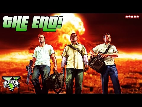 GTA 5 THE END!!!   The Final BIG Decision   Grand Theft Auto 5 Campaign Final Mission