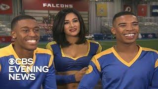 Male cheerleaders will make history at Super Bowl 2019