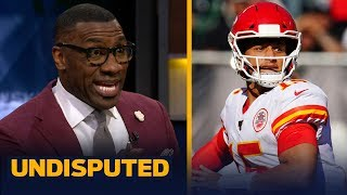 Shannon Sharpe predicts another MVP for Patrick Mahomes this season | NFL | UNDISPUTED