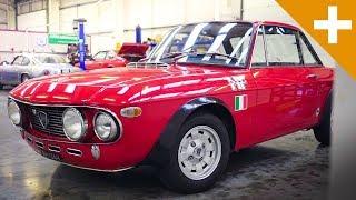 Lancia, Bizzarrini & Ferrari: A Walk Around Thornley Kelham - Carfection +