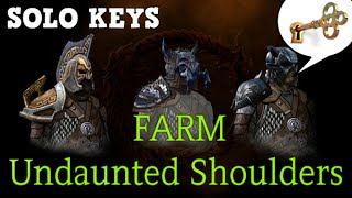 How to SOLO FARM Undaunted Shoulders l ESO