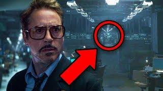 Endgame Easter Egg! Howard Stark's Secret ZOLA Project Theory!