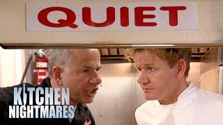 QUIET! No Talking In The Kitchen!   Kitchen Nightmares
