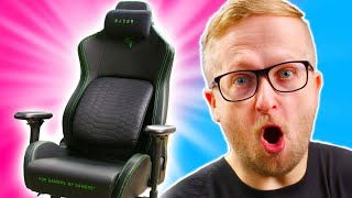 Unboxing Razer's FIRST Gaming Chair! - Iskur