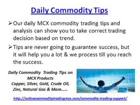 Commodity Trading Tips, Commodity Calls & Technical Analysis