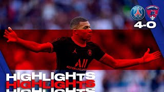 HIGHLIGHTS   PSG 4-0 CLERMONT