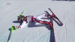 St. Moritz 2017 Slalom: GOLD LAUF MARCEL HIRSCHER! | SKI WM HERREN 1. PLATZ 19.2.2017