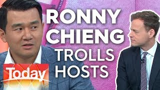 Ronny Chieng trolls Today hosts | Today Show Australia