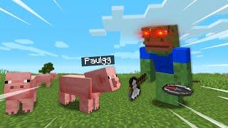 Minecraft Speedrunner VS Hunter But I Can Morph Into ANY Mob!