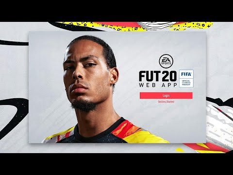 FIFA 20 WEB APP TRADING & PACKS! EA ACCESS HYPE!