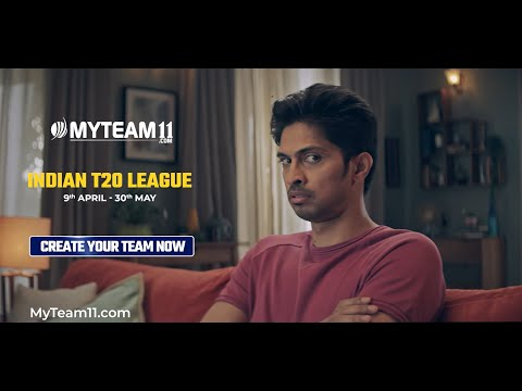 Indian T20 League starts 9th April | Make your teams now only on MyTeam11 & Win Big!