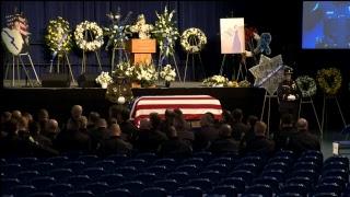 Memorial service for slain Davis Police Officer Natalie Corona