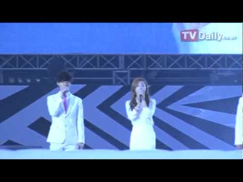 [TVDaily] 120818 SMTOWN in Seoul - Opening + Dear My Family