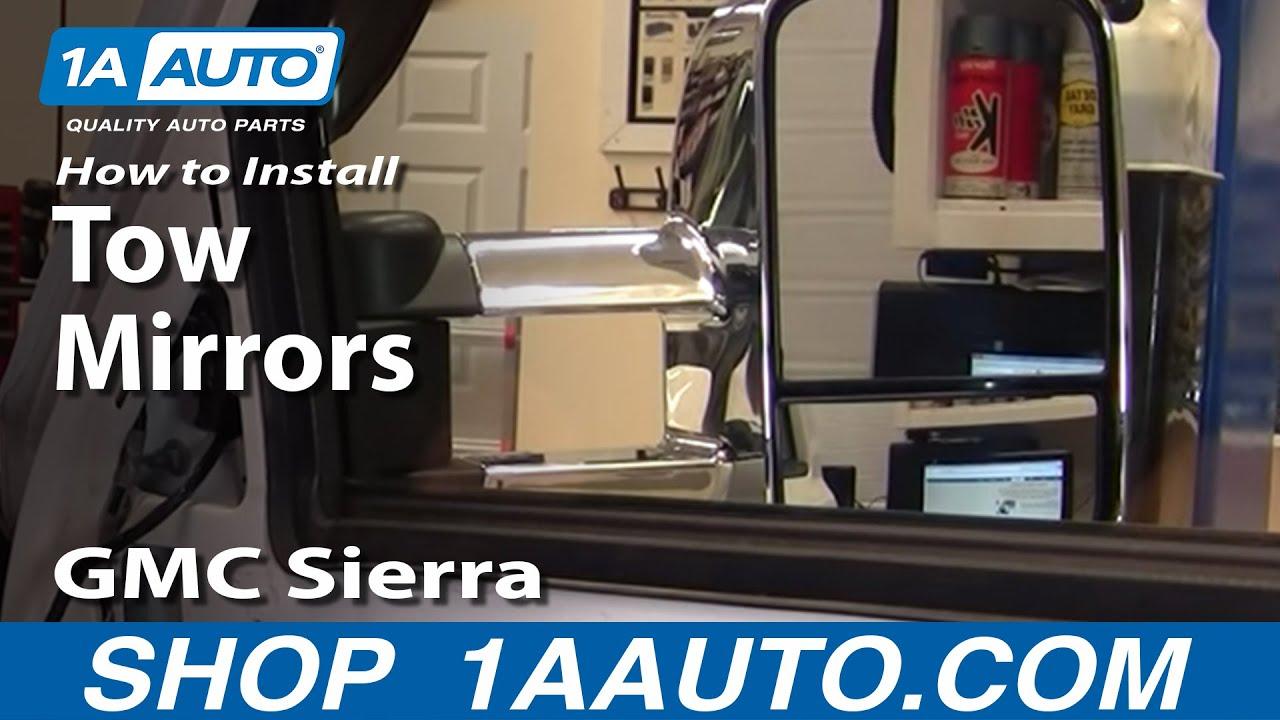 How To Upgrade Tow Mirror With Signal Chevy Silverado Gmc