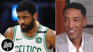 Scottie Pippen doesn't approve of Kyrie Irving's early exit | BS or Real Talk | The Jump