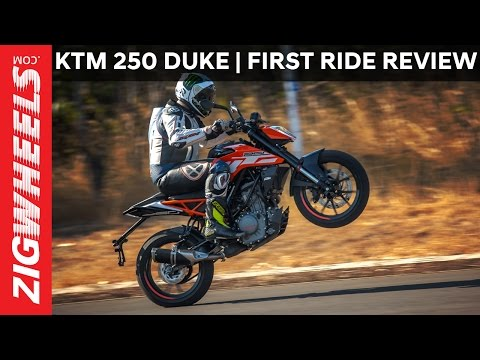 2017 KTM 250 Duke: First Ride Review