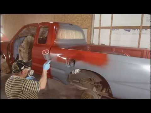 painting toyota pick up
