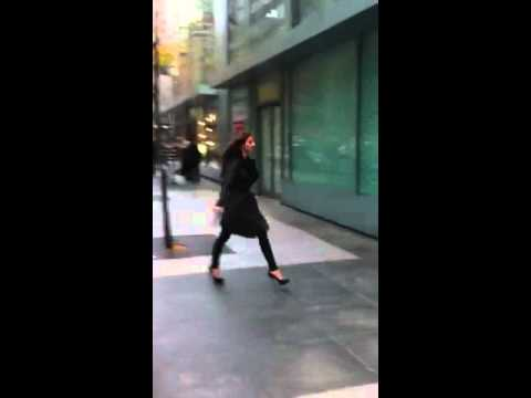 Helena Šopar na snimanju filma The Last Sunshine [CROMODA.COM]