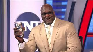 Shaq Threatens To Knock Charles Barkley Out On Inside The NBA