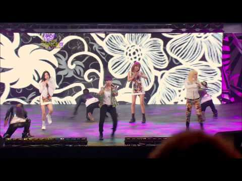 2NE1 - I Am The Best + I Love You | USA concert.