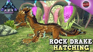 ARK Survival Evolved Ep #21 - HATCHING OUR FIRST ROCK DRAKE