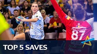 Top 5 Saves | Round 2 | Women's EHF Champions League 2018/19