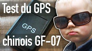 Test du tracker GPS chinois GF-07