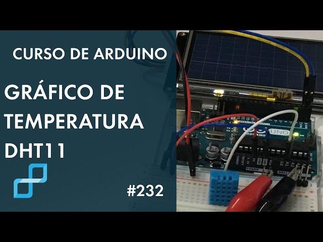 COMO PLOTAR GRÁFICO DE TEMPERATURA | Curso de Arduino #232
