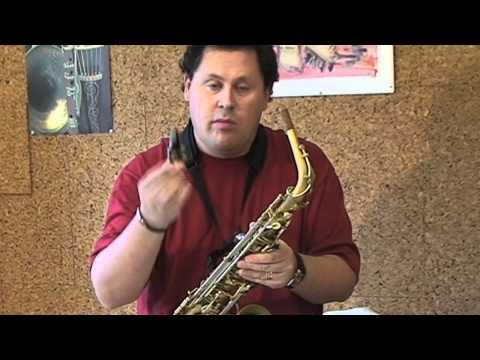 Jordi Paulí / Parts del saxòfon