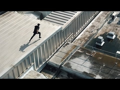 500m Rooftop Parkour relay 🇬🇧
